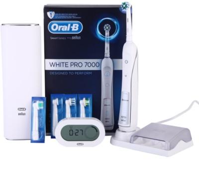 Oral B White Pro 7000 D36.555.6X escova de dentes eléctrica