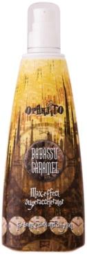 Oranjito Max. Level Babassu Caramel loción bronceadora para solárium