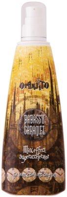 Oranjito Max. Level Babassu Caramel losjon za sončenje v solariju