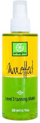 Oranjito Level 3 Shake Zwei-Phasen Bräunungsspray für das Solarium