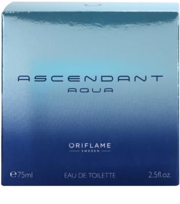 Oriflame Ascendant Aqua eau de toilette para hombre 4
