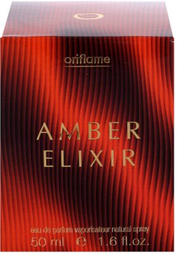 Oriflame Amber Elixir eau de parfum para mujer 4