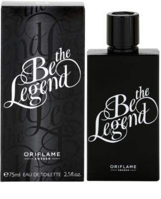 Oriflame Be the Legend Eau de Toilette für Herren