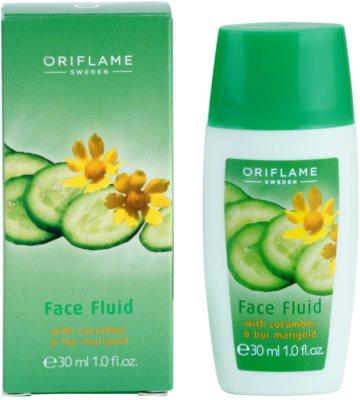 Oriflame Cucumber & Bur Marigold hidratáló fluid 1
