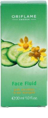 Oriflame Cucumber & Bur Marigold hidratáló fluid 2