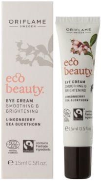 Oriflame Eco Beauty rozjaśniający krem do okolic oczu 1