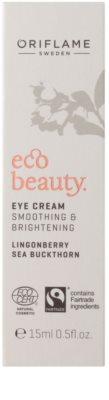 Oriflame Eco Beauty rozjaśniający krem do okolic oczu 2