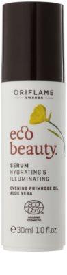 Oriflame Eco Beauty ser cu efect iluminator pentru toate tipurile de ten