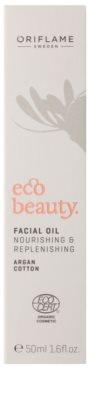 Oriflame Eco Beauty Ulei facial pentru alimentatie intensa si elasticitate 3