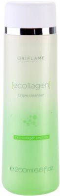 Oriflame Ecollagen тройна почистваща грижа