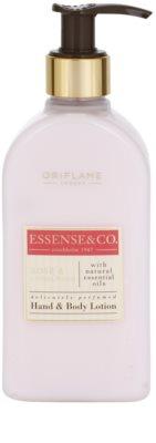 Oriflame Essense and Co leite corporal para mãos e corpo