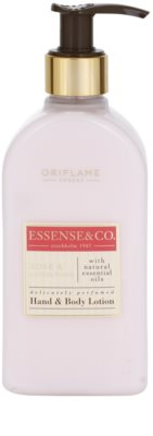 Oriflame Essense and Co мляко за тяло  за ръце и тяло