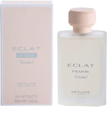 Oriflame Eclat Femme Weekend Eau de Toilette für Damen