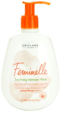 Oriflame Feminelle upokojujúca emulzia pre intímnu hygienu