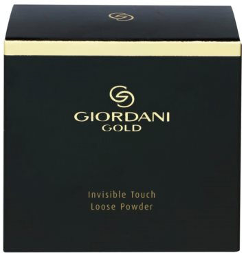 Oriflame Giordani Gold Invisible Touch легка розсипчаста пудра з матуючим ефектом 3