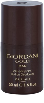 Oriflame Giordani Gold deodorant Roll-on para homens