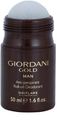 Oriflame Giordani Gold deodorant Roll-on para homens 1