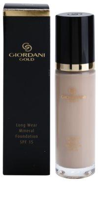 Oriflame Giordani Gold langanhaltendes mineralisches Make-up SPF 15 2