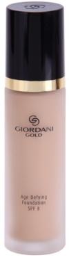 Oriflame Giordani Gold антивіковий тональний крем SPF 8