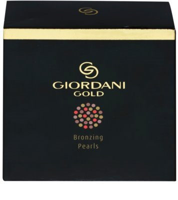 Oriflame Giordani Gold polvos con efecto bronceado en perlas 4