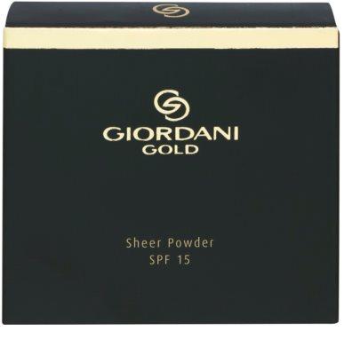 Oriflame Giordani Gold мінеральна компактна пудра SPF 15 3