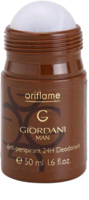 Oriflame Giordani Man dezodorant w kulce dla mężczyzn 1