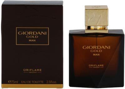 Oriflame Giordani Gold Man eau de toilette para hombre