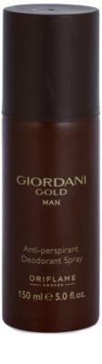 Oriflame Giordani Gold Man дезодорант-спрей для чоловіків