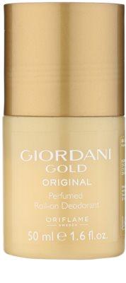 Oriflame Giordani Gold Original deodorant roll-on pentru femei