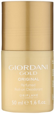 Oriflame Giordani Gold Original deodorant roll-on pro ženy