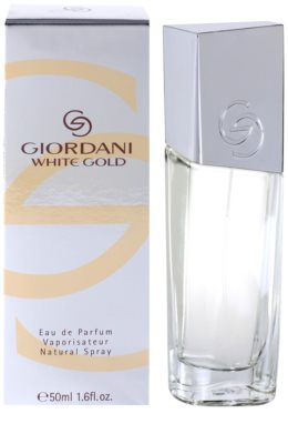 Oriflame Giordani White Gold woda perfumowana dla kobiet