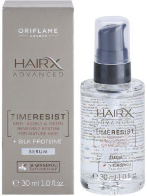 Oriflame HairX Advanced Time Resist verjüngerndes Anti-Aging Serum für das Haar 1