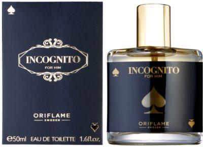 Oriflame Incognito туалетна вода для чоловіків
