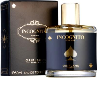 Oriflame Incognito Eau de Toilette para homens 2