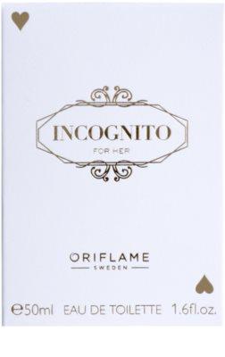 Oriflame Incognito Eau de Toilette pentru femei 1