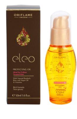 Oriflame Eleo ochranný olej pro barvené vlasy 1