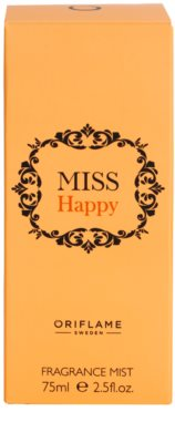 Oriflame Miss Happy spray corporal para mujer 4