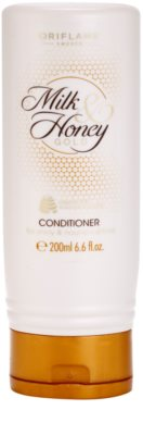 Oriflame Milk & Honey Gold der nährende Conditioner für das Haar