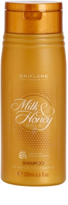 Oriflame Milk & Honey Gold champú nutritivo para cabello