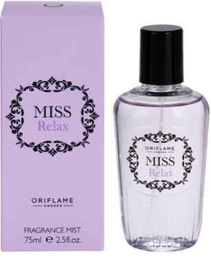 Oriflame Miss Relax tělový sprej pro ženy