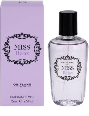 Oriflame Miss Relax testápoló spray nőknek