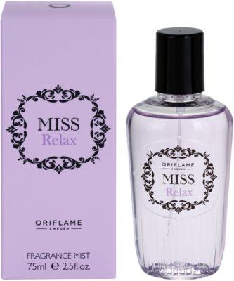 Oriflame Miss Relax спрей для тіла для жінок