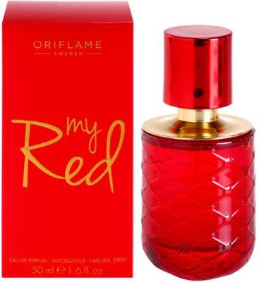 Oriflame My Red eau de parfum para mujer