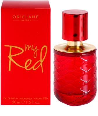 Oriflame My Red Eau de Parfum para mulheres