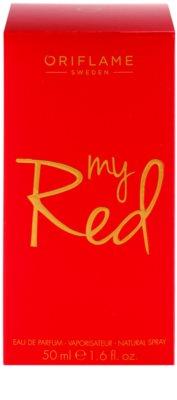 Oriflame My Red Eau De Parfum pentru femei 4
