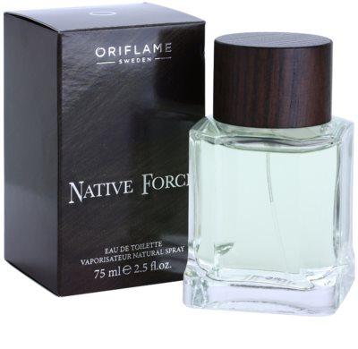 Oriflame Native Force Eau de Toilette für Herren 1