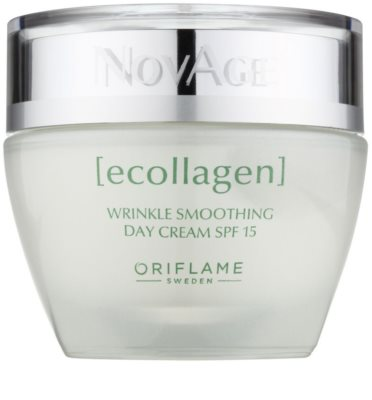 Oriflame Novage Ecollagen изглаждащ крем против бръчки SPF 15