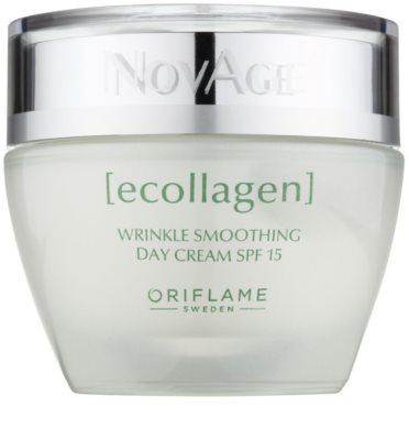 Oriflame Novage Ecollagen crema antiarrugas con efecto alisador SPF 15