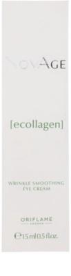 Oriflame Novage Ecollagen gladilna krema za predel okoli oči proti gubam in temnim kolobarjem 2