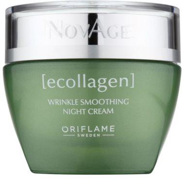 Oriflame Novage Ecollagen crema de noapte pentru contur